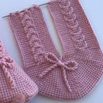 Knit Simple Vintage Slippers