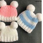 Crochet Easy Baby Hats