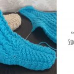 Knit Simple Hi Slippers