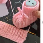 Knit Candy Baby Slippers