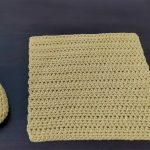Crochet Simple Square Slippers
