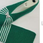 Knit Easy Green Slippers