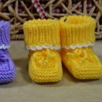 Knit Comfy Baby Booties
