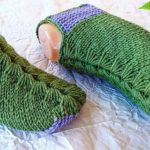 Knit Old Style Slippers