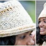 Crochet Derby Hat