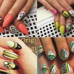Tribal Nail Art Designs 30+ Photo