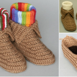Crochet Boots Pattern + Video