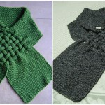 Knit Weefsjaal