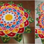 How To Crochet Round Rug Mandala