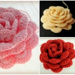 Crochet Rose With 1.25mm Hook