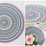 Crochet Springtime Magic Mandala