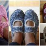 Knit AK's Slippers