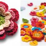 Crochet Colorful Flora