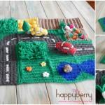 Crochet Road Play Mat