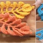 Crochet Leaf Stitches