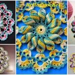Pretty Pinwheel Doily