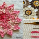 Crochet Flower Curtain