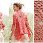 Peach Dream Jacket – English & Spanish Patterns
