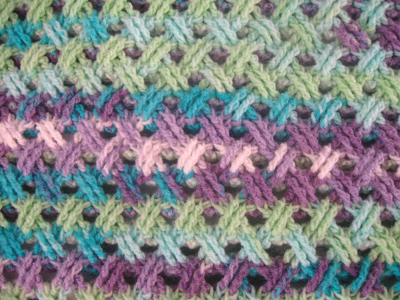 Interweave Cable Stitch Shot Of Stitch Web Display Pretty Ideas