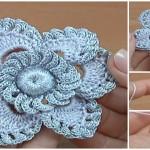 Crochet Lovely Flower