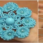 Crochet Beautiful Petal Flower