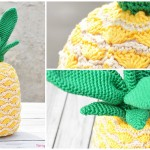 Crochet Tropical Pineapple