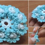 Crochet Flower With Small Spirals