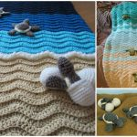 Crochet Turtle Beach Blanket