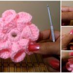 How To Crochet Easy & Beautiful Flower