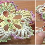How To Crochet 5-Petal Flower With Big Rounds
