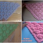 How To Crochet 4 Most Beautiful Stitches For Blankets