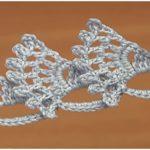 Crochet Wide Flat Double Sided Tape