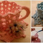 How To Crochet Decorative Teacup and Saucer