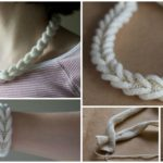 Knit Cable Braided Band