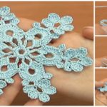 Crochet Beautiful Snowflake