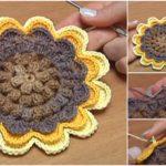 Crochet Sunflower – Video Tutorial