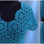 Crochet Blouse With Motifs