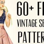 60+ Free Vintage Patterns