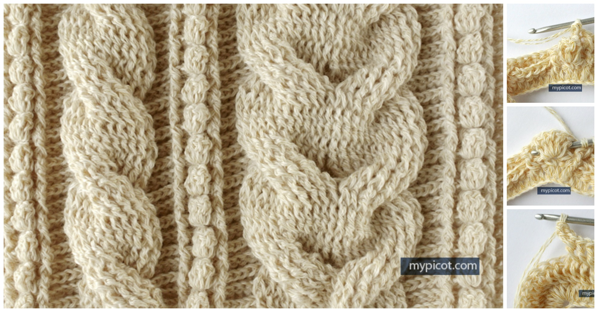 Crochet Celtic Cable Pattern Pretty Ideas