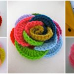 Crochet Loopy Roses