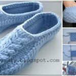 Slippers With Celtic Element