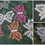 Delicate Crochet Butterflies