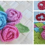 Rose Brooch | FREE Pattern