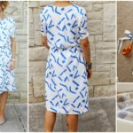 Simple Blouson Dress – Sewing Tutorial