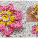 Video Tutorial For Crocheted Flower
