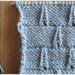 Knit Eiffel Tower Stitch