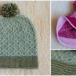 """Knit Hat """"Margit In The Wind"""""""