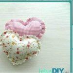 How to Sew Mini Heart Pillow