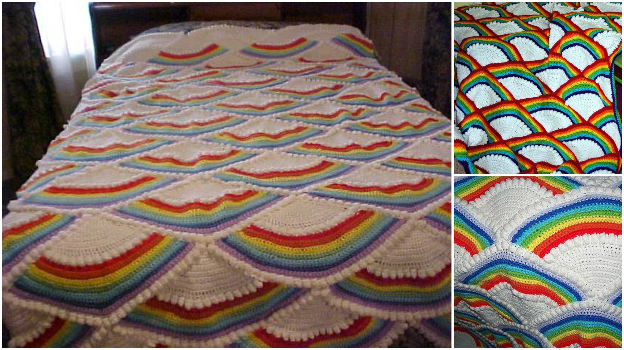 Cobertor de arco-íris