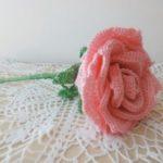 Crochet Big Rose